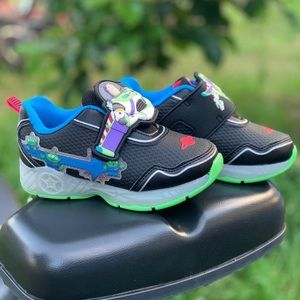Toy Story Toddler Boys Light Up Athletic Shoe New